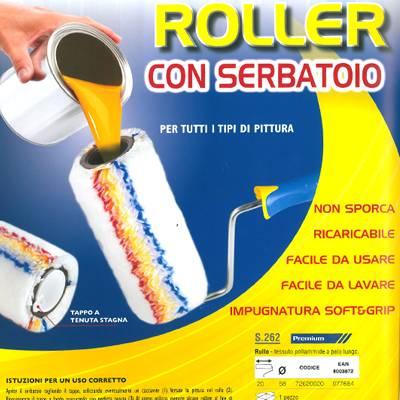 Roller con serbatoio incorporato